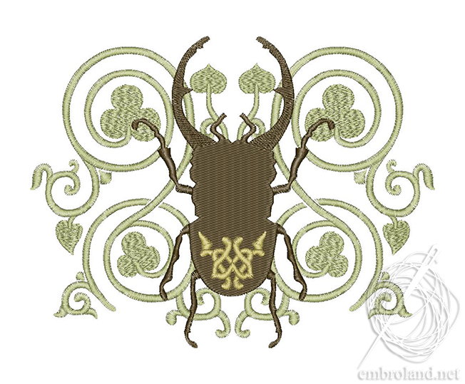 Beetle Embroidery Design Online Shop Machine Embroidery Designs
