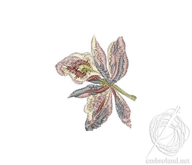 Shrubs Embroidery Design Flowers Plants Online Shop Machine