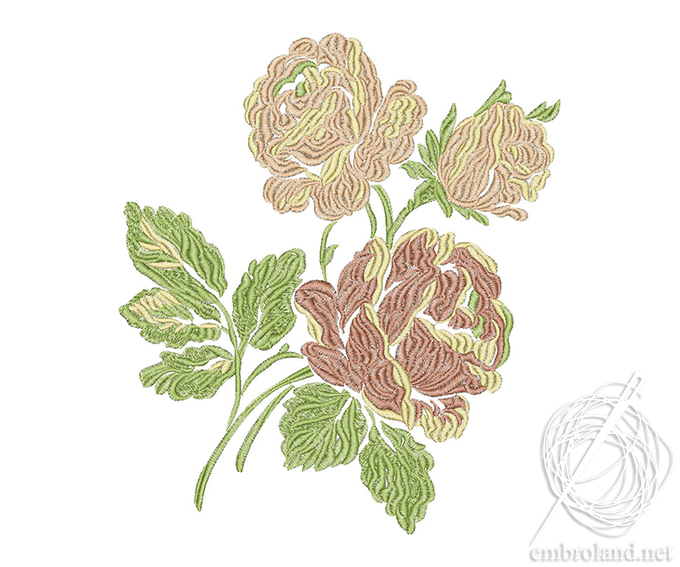 Roses Embroidery Design Online Shop Machine Embroidery Designs