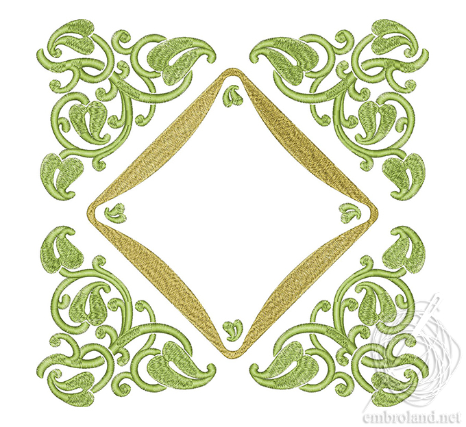 Frame Applique Embroidery Design Online Shop Machine Embroidery